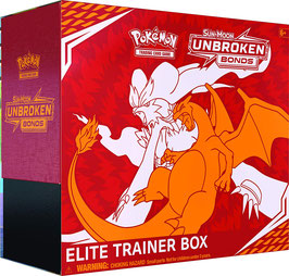 Pokemon Kräfte im Einklang Top (Elite) Trainer Box Sonne & Mond 10 Englisch NEU & OVP