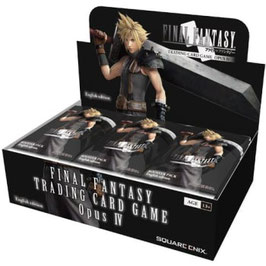 Final Fantasy TCG Opus 4 - Booster Display (36 Packs) - Deutsch
