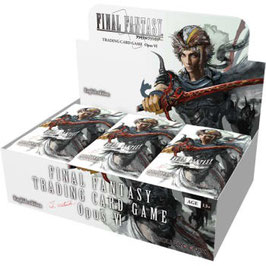 Final Fantasy TCG Opus 6 - Booster Display (36 Packs) - Deutsch