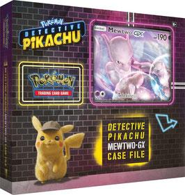 Meisterdetektiv Pikachu Kollektion Fallakte Mewtu GX (deutsch) *EXTREM LIMITIERT*
