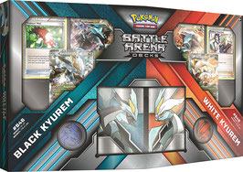 Pokemon Black Kyurem vs. White Kyurem Battle Arena Decks English