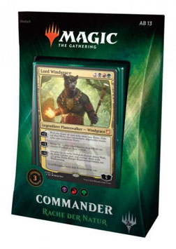 Magic Rache der Natur Commander Deck 2018 (deutsch) - Commander Deck 2018