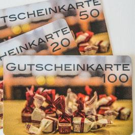 Gutscheinkarte CHF 50.00