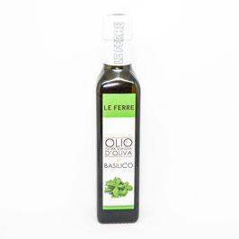 Olio d'Oliva e basilico 250 mL