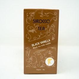 Sirocco Bio Tee Black Vanilla