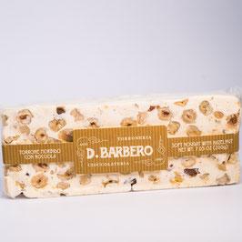 D.Barbero Torrone morbido con nocciola