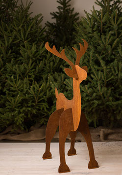 "Steel 40"" Reindeer  - Sale Price!"
