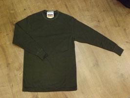 BW Plüsch Unterhemd Langarm