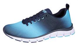 BORAS  - Fashion Sports Sneaker Sprayed navy/aqua