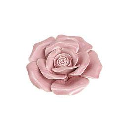"""Keramik Blume """"Rose"""" in Rosa"""
