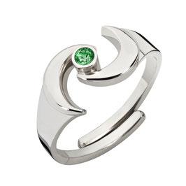 """Ring """"Gaia, grün"""""""