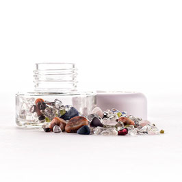 """Vita Juwel: Crystal Jar """"Sieben Chakras"""" für Inu!"""