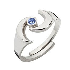 """Ring """"Gaia, blau"""""""