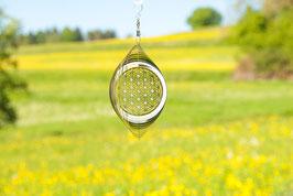 """Mobile """"Blume des Lebens"""", mit Zirkoniakristallen"""