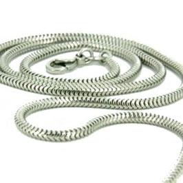 Schlangenkette, Silber
