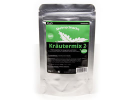 GlasGarten Shrimp Snacks Kräutermix 2 + Minze
