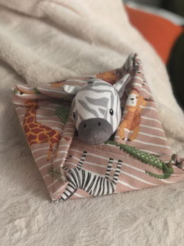 Doudou Zèbre au Safari