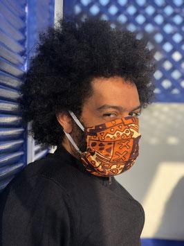 Masque Bogolan Marron