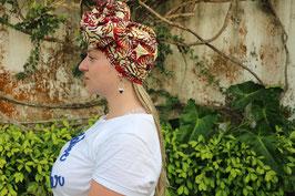 Foulard en Wax à Nouer Havana
