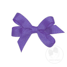 Wee Ones Ribbon Clip Purple