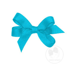 Wee Ones Ribbon Clip Turquoise