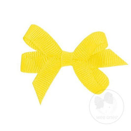 Wee Ones Ribbon Clip Yellow