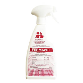 Desinfektion Veterinär FERMAVET Sprühflasche 500 ml