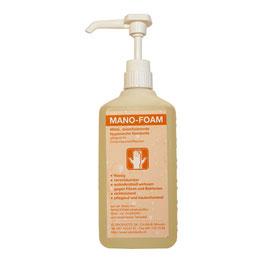 Desinfizierende Schaumseife MANO-FOAM mit Dosieraufsatz 500 ml