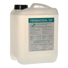 Desinfektion Flächen FERMACIDAL D2 Kanister 5 l / 10 l / 25 l