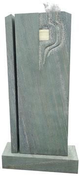 2-teiliges Grabmal inkl. Sockel