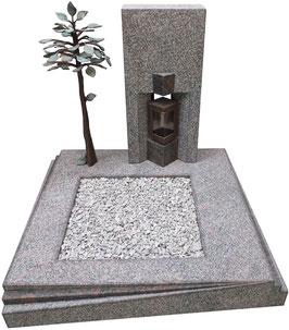 """Design Urnen-Grabanlage """"Romano & Chiese"""" (Exklusives Modell)"""