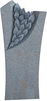 Stele mit handwerklichem Blatt-Ornament