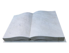 Buch mit eingearbeiteten Seiten