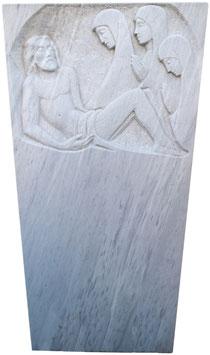 Grabmal aus Marmor