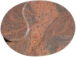 Liegeplatte mit Abstellfläche