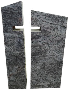 Zweiteiliger Urnengrabstein