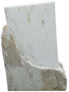 Gesprengter Marmor