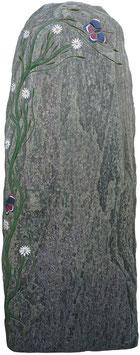 Stele aus Serpetin