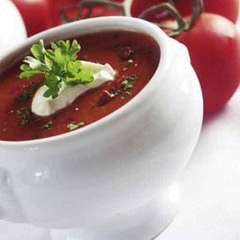 Vegetarische Tomatencremesuppe