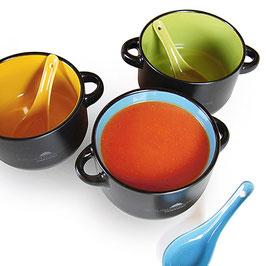 Suppenschüsselchen mit Löffel