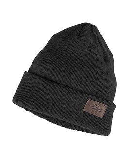 Rib Beanie 100% Virgin Lambswool Black | Klitmøller | 45.-