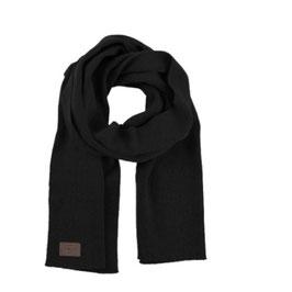 Rib Scarf 100% Virgin Lambswool Black | Klitmøller | 65.-€