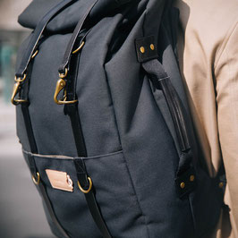 Karl 48h Travel Backpack Midnight Black / Black | Property Of... 219,00