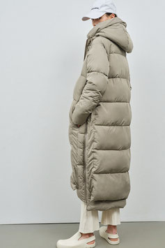Lourdes Puffer Coat Pale Olive  | Embassy of Bricks and Logs | 469.-€