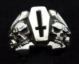 GSKR-004:Coffin Skull Ring