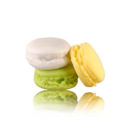 Savon Macaron - Musc blanc, Mojito, Pina Colada