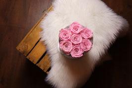 Flowerbox ronde 7 Roses
