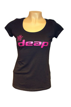 deap T-shirt women anthracite