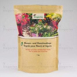 Blumen- und Gemüsedünger fest