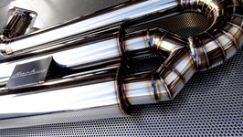 For HIACE200 RACING MUFFLER KIT 【TYPE-Ⅰ】